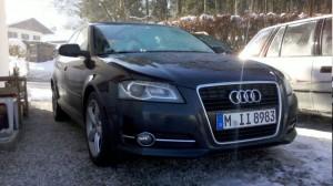 Audi A3 Sportback 2.0 TDI mit S-line Ausstattung.