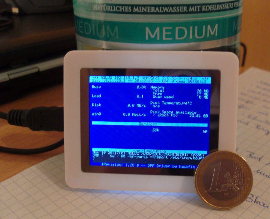 LCD an Fritz!Box mit lcd4linux und digitalen Bilderrahmen von Pearl ...